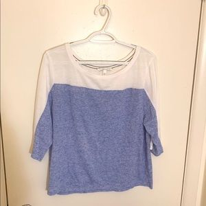 Victoria's Secret Color-Block Jersey Tee